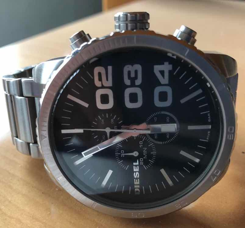 ecfabb46959 relógio diesel dz 4209 aço. Carregando zoom.