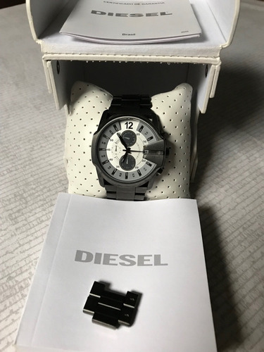relógio diesel dz-4225 super conservado water resist 10bar