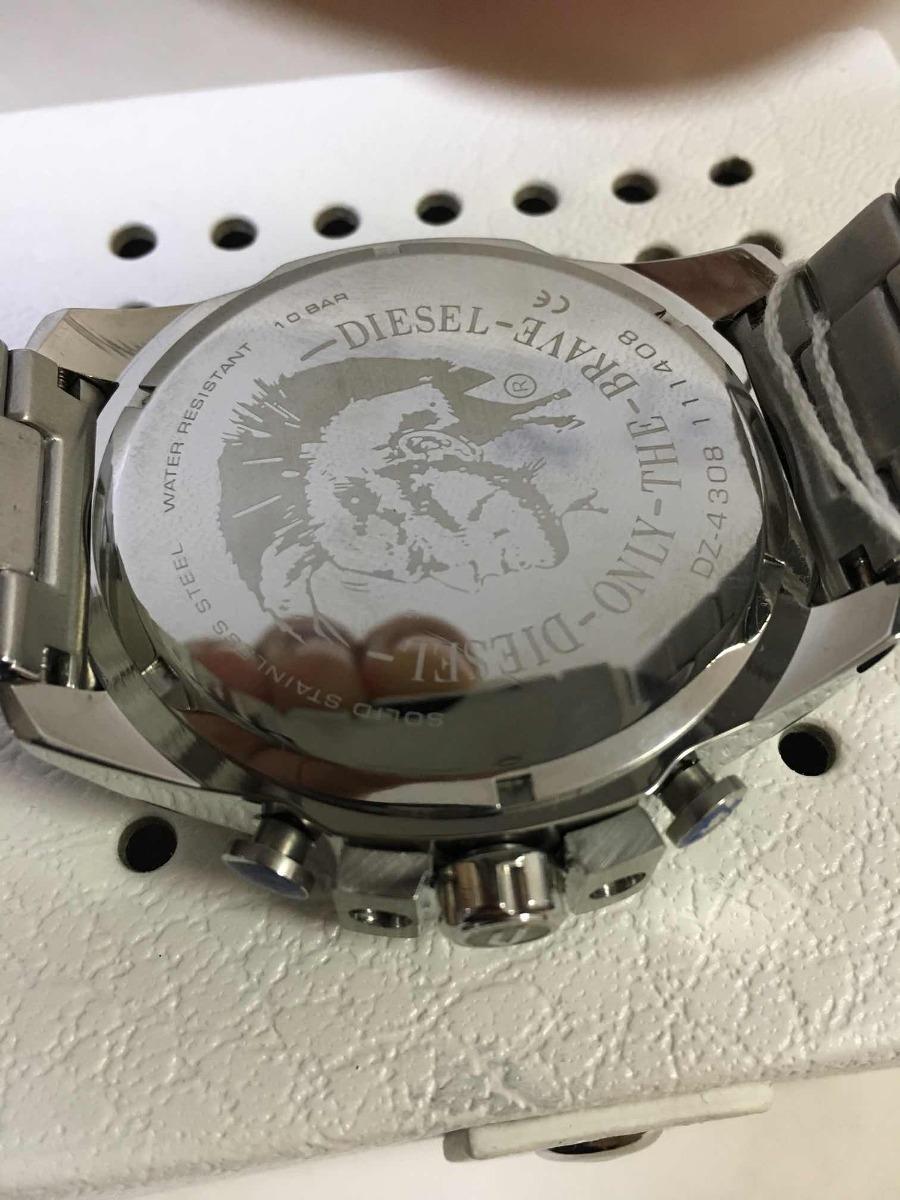 cae3b927b24 Relógio Diesel Dz-4308 F p C Caixa Manual E Garantia - R  350
