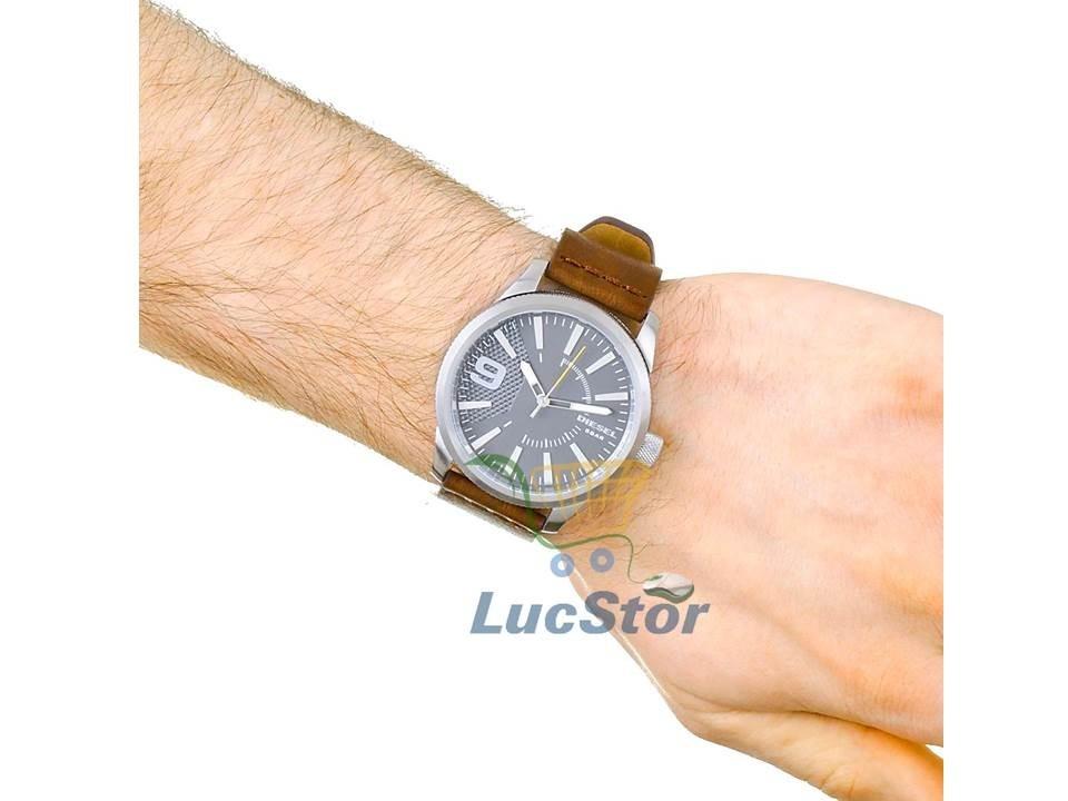 b0e21c34efa relogio diesel dz1802 0cn pulseira couro masculino. Carregando zoom.