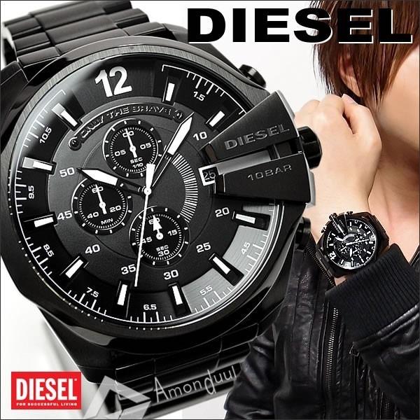 9159b64638c0c Relogio Diesel Dz4283 Mega Chief Original 10 Bar Novo Caixa! - R  374