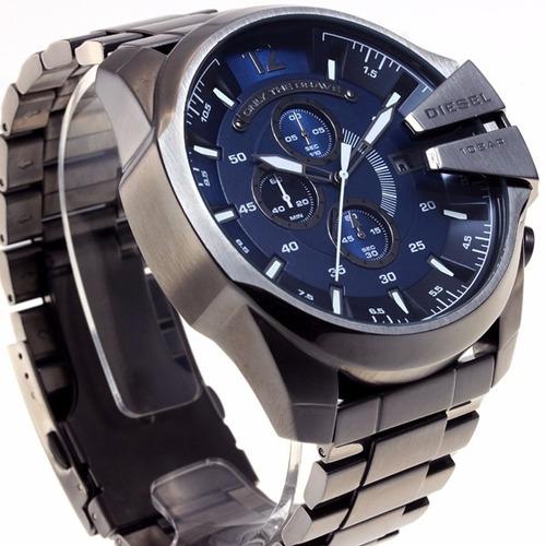 relógio diesel dz4329 azul masculino original garantia