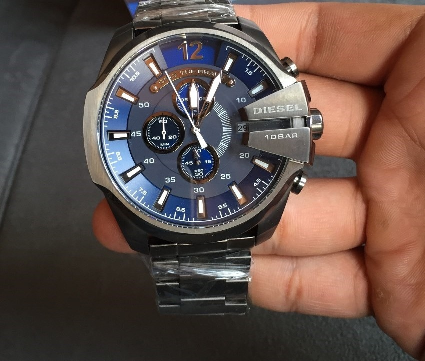 relógio diesel dz4329 azul masculino original garantia lindo. Carregando  zoom. 70cb9d3a6e