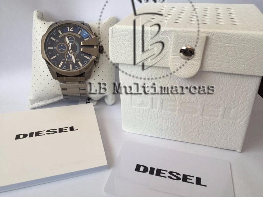 9114b67c765 Relógio Diesel Dz4329 Foto E Vídeo Real Do Produto- Original - R ...