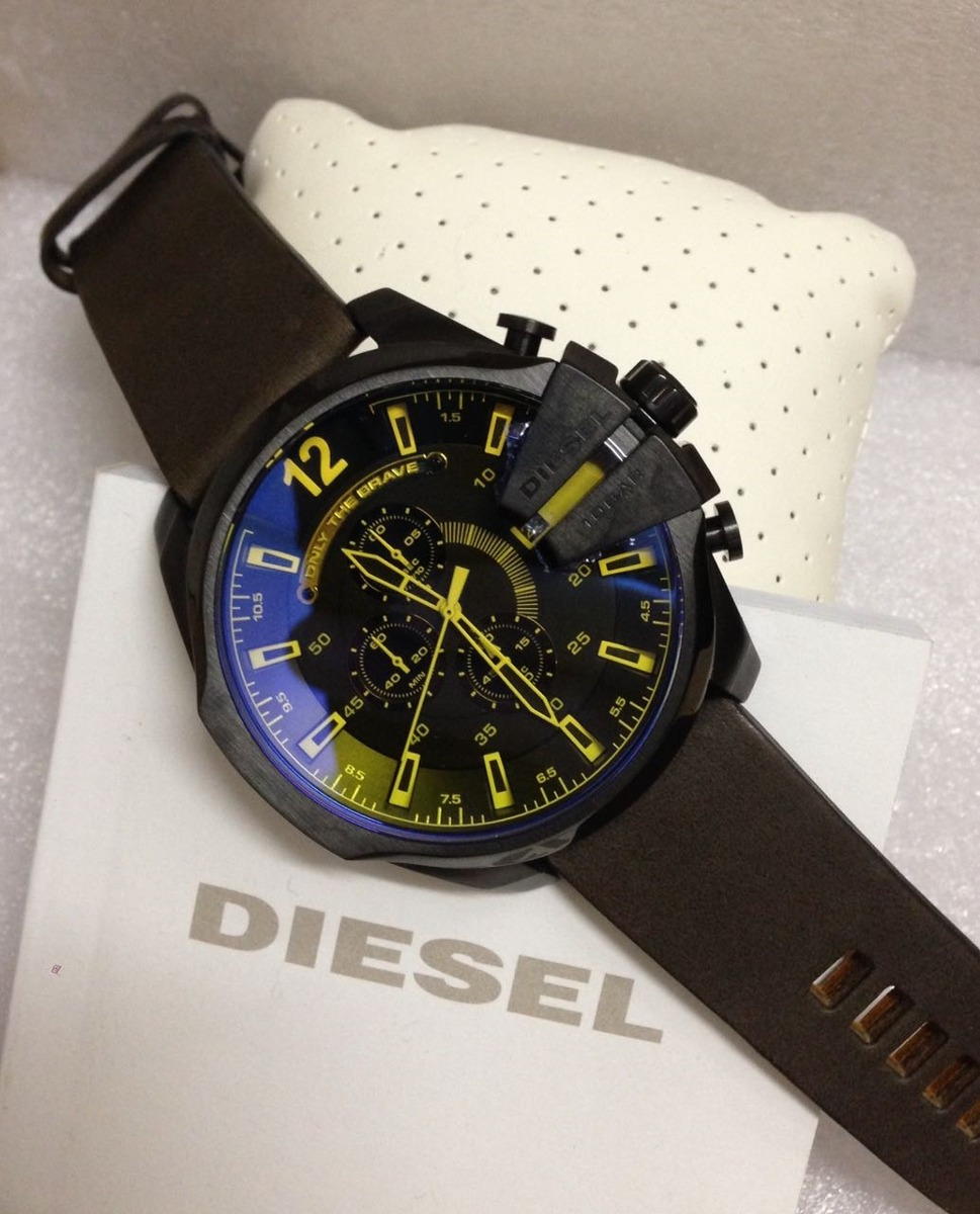 ca281b44d80 relogio diesel dz4401 mega chief 100% original 12x s  juros. Carregando  zoom.