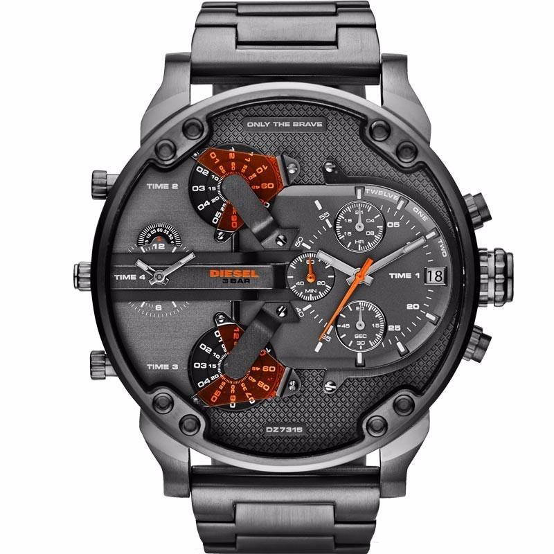 16871693ad0 Relógio Diesel Dz7315 Oversize Original - Não É Réplica - R  1.295 ...