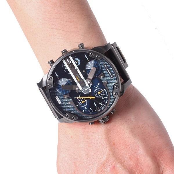 5513852807a Relógio Diesel Dz7331 Mr. Daddy 2.0 Original Chumbo E Azul - R  499 ...