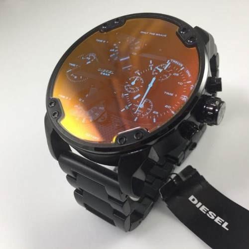 5033bef0755 Relógio Diesel Dz7395 Mr. Daddy 2.0 Original 57 Mm Black - R  2.349 ...