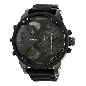 Relógio Diesel Dz7396 Mr. Daddy 2.0 Original 57 Mm Black