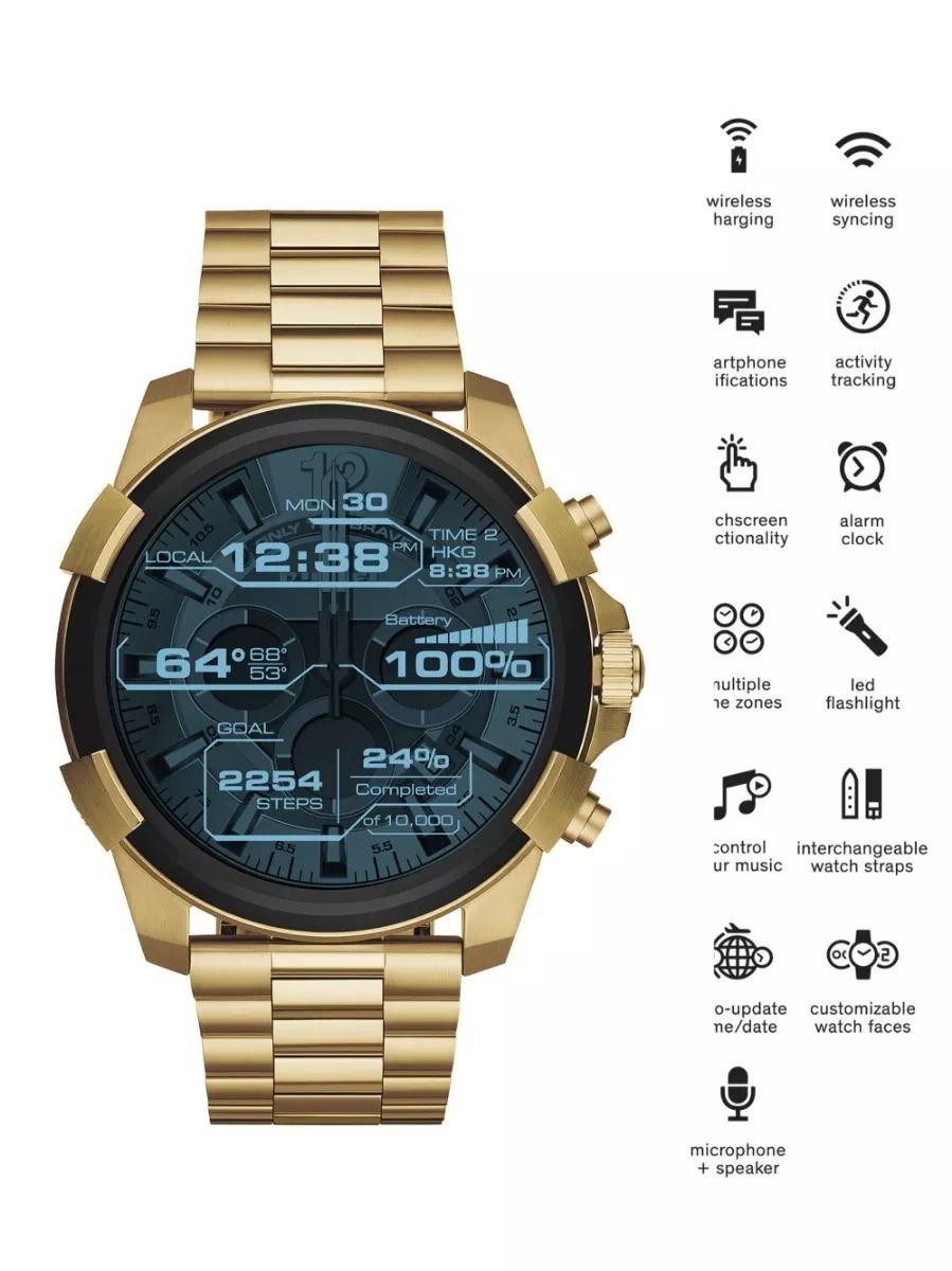 1c96d374fa0 Relógio Diesel Dzt2005 Touchscreen Pronta Entrega-smartwatch - R ...