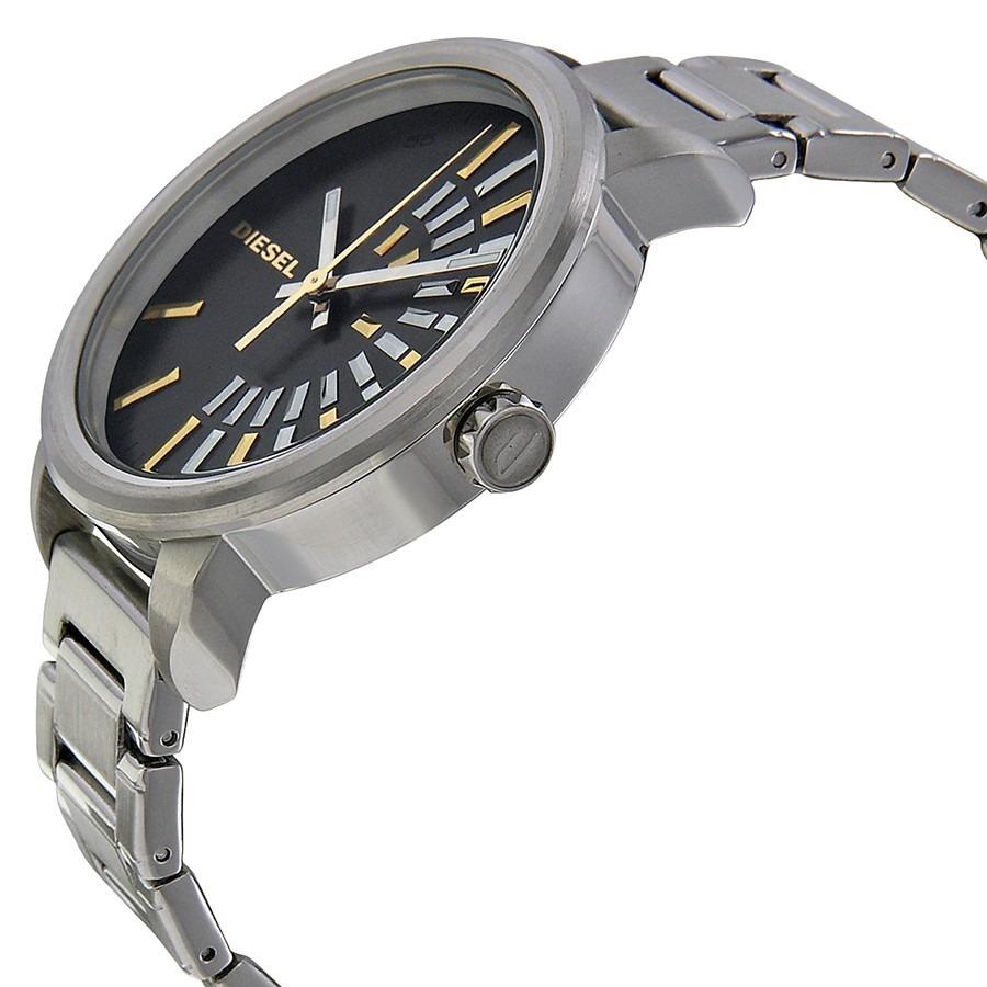 55b5e5cd13a relógio diesel feminino prata c  detalhes dourado dz5419 1cn. Carregando  zoom.