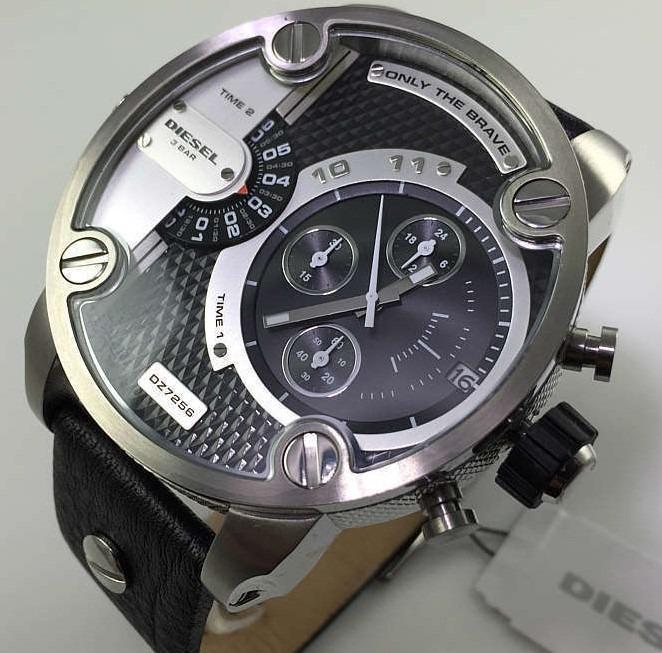 02be84ce468 Relógio Diesel Little Daddy Modelo Dz 7256 Original!!! - R  899