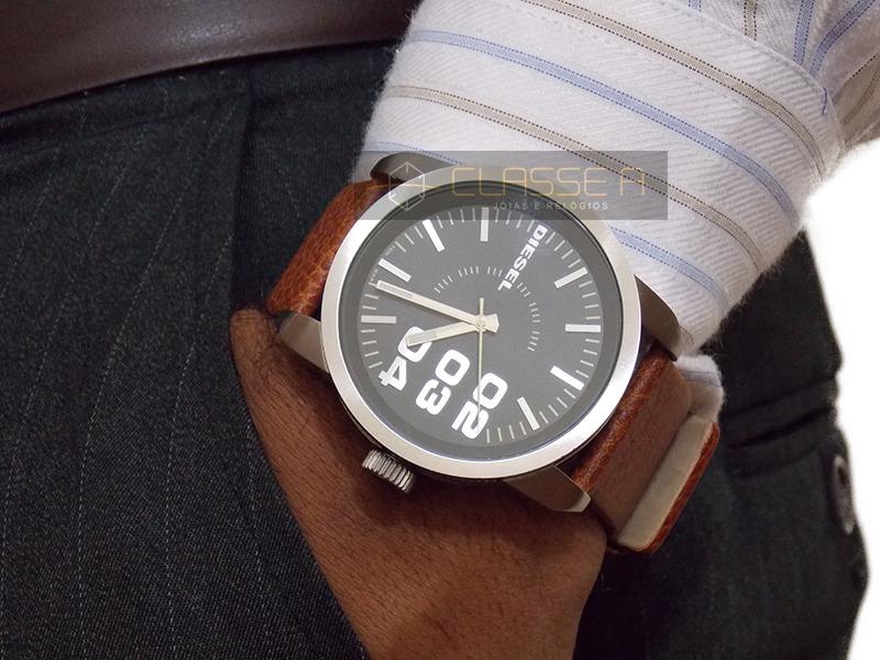 Relógio Diesel Masculino Idz1513 z - Veja O Vídeo - R  497,00 em ... b0d92238f0