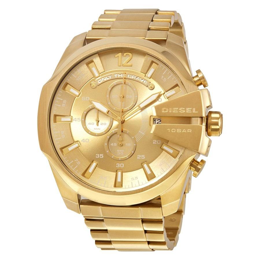 e6ad27aea02 Relógio diesel masculino dourado cronógrafo original carregando zoom jpg  900x900 Relogio diesel dourado