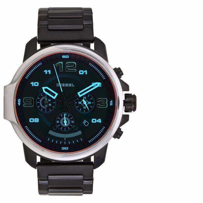 9f29dc33475e7 Relógio Diesel Masculino Dz4434 4pn - R  1.462,50 em Mercado Livre