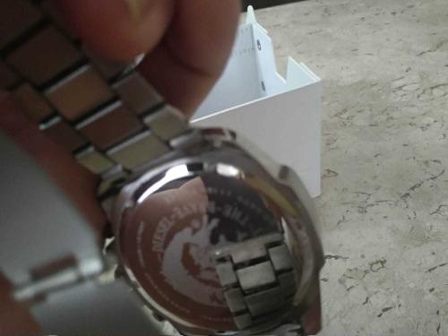 relógio diesel masculino mega chief dz4477 original usado