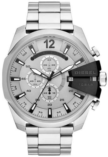 relógio diesel masculino mega chief dz4501/1kn