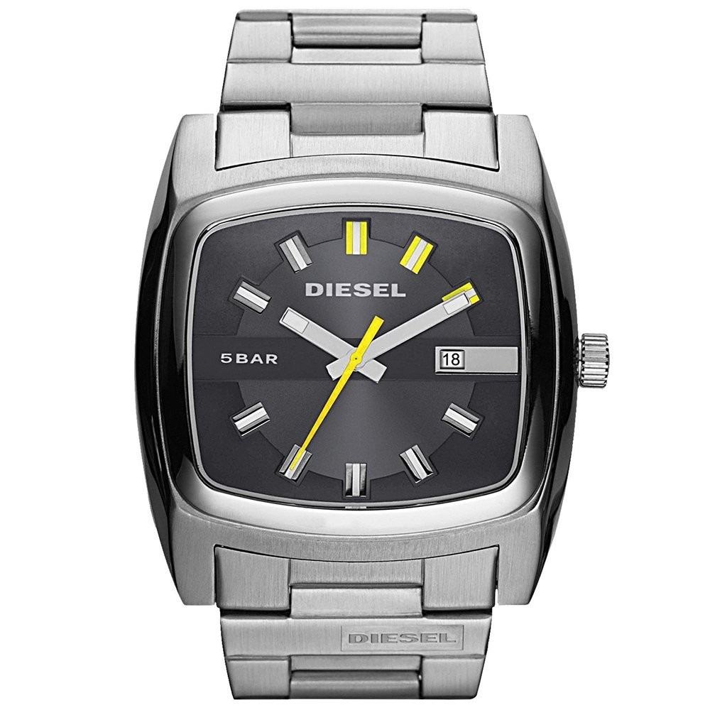 9d5d96d40a4 relógio diesel masculino quadrado prata idz1556z nota fiscal. Carregando  zoom.