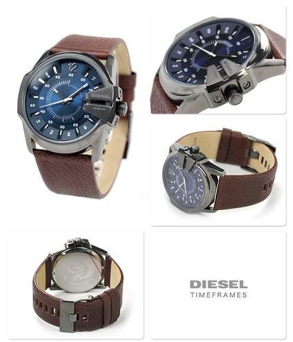 dd6e92a68fc Relógio Diesel Master Chief Analógico Dz1618 0an Azul - R  1.099
