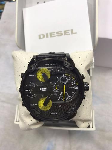 35d551682b1 Relógio Diesel Mr.daddy 3 Bar Original Dz7311 - R  679