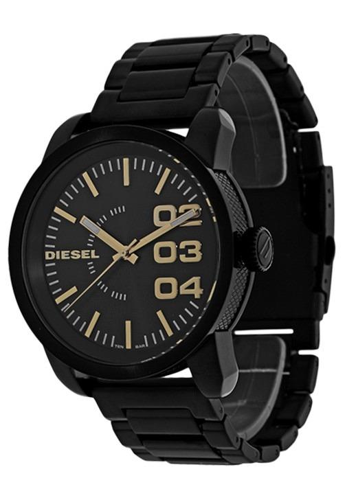 90a342ddd6dd5 Relógio Diesel Original Masculino Esportivo Preto Idz1566 z - R ...