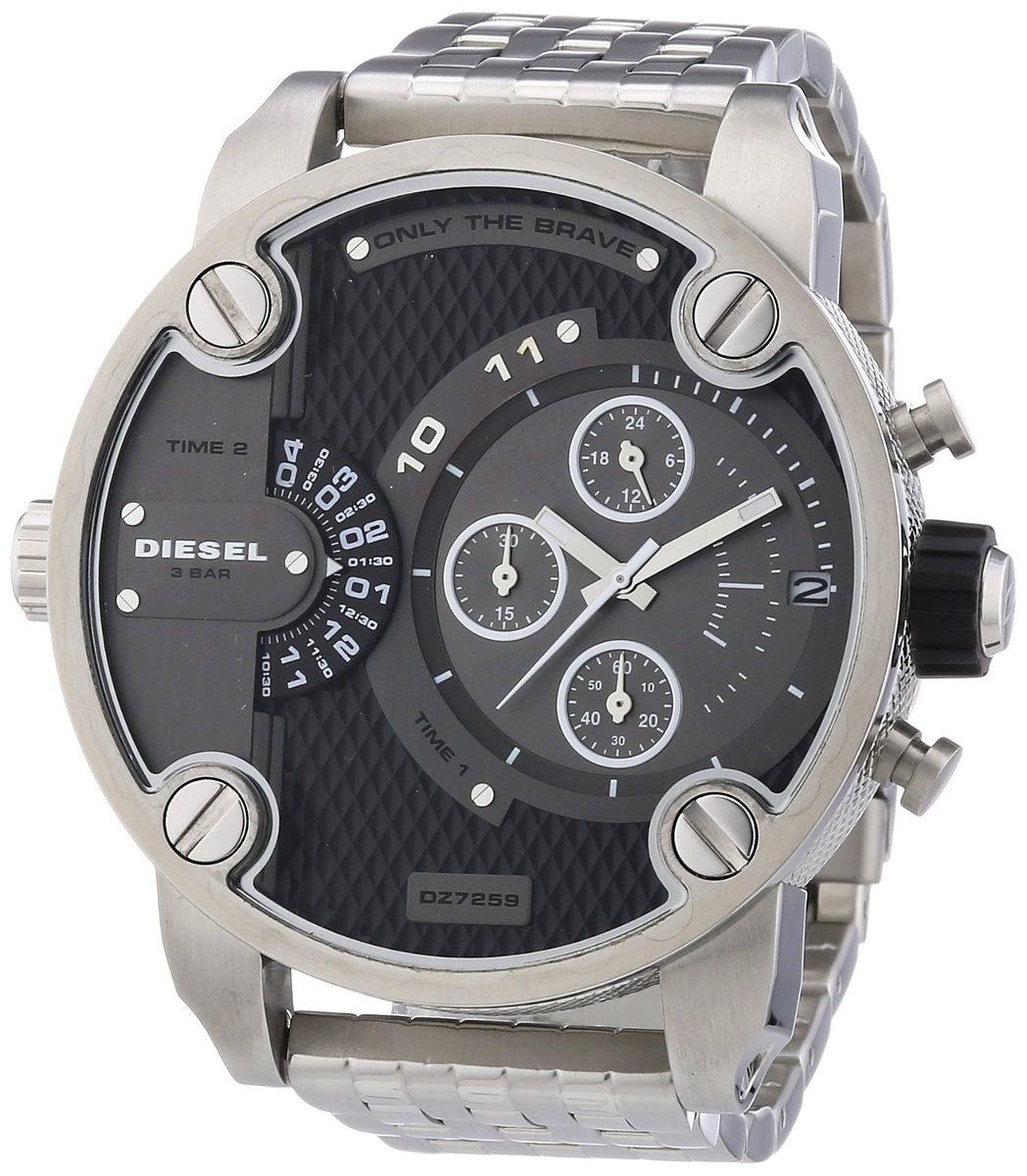 01d8936ed764a relógio diesel original masculino idz7259 z de luxo em aço. Carregando zoom.