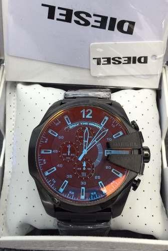 911c01cd195 Relógio Diesel Top Original Dz4318 Preto Bi Color-lindoo!! - R  274 ...