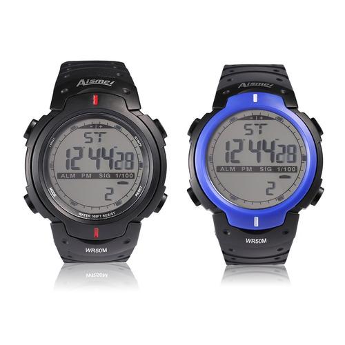 relógio digital a prova da água night light digital chronogr