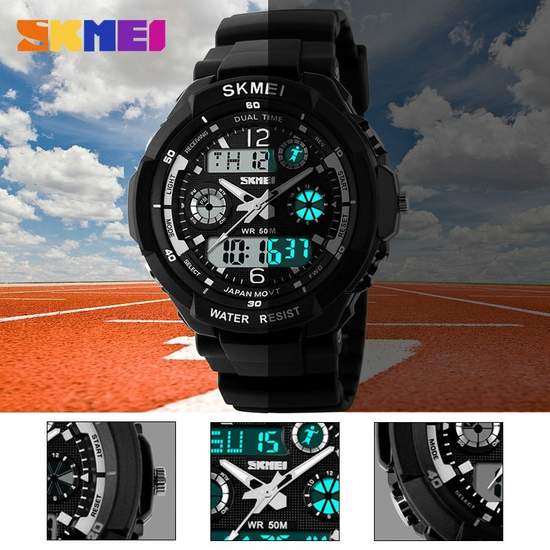 8f748c32ab7 relógio digital analógico masculino importado skmei barato. Carregando zoom.