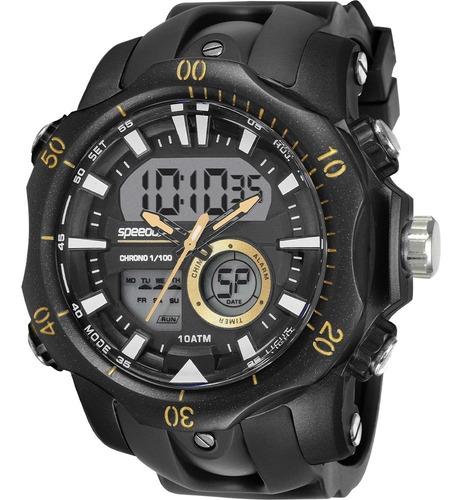 relógio digital analógico speedo masculino 11011g0evnp3