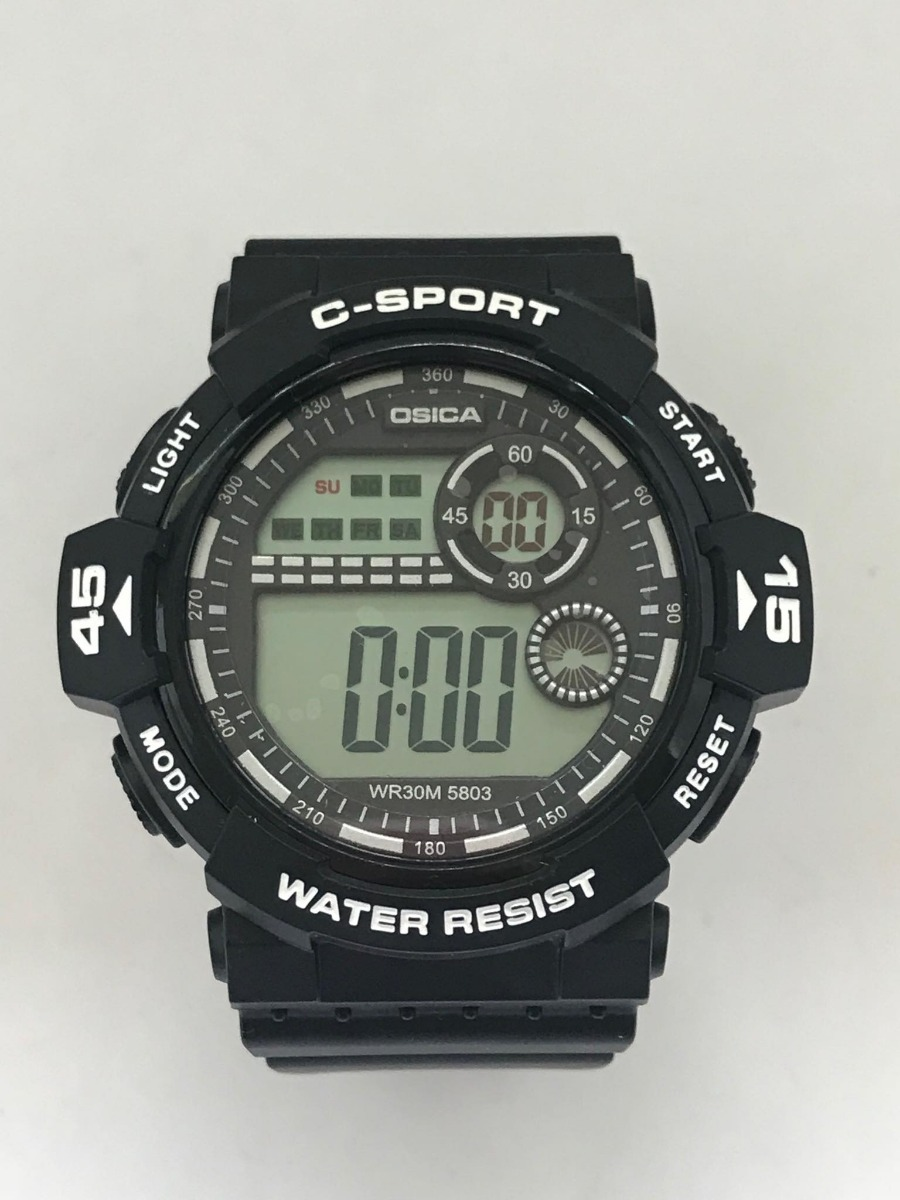 2dd9685b91f4 relogio digital casio calendario cronometro. Carregando zoom.