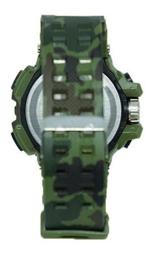 relógio digital casio g-shock camuflado