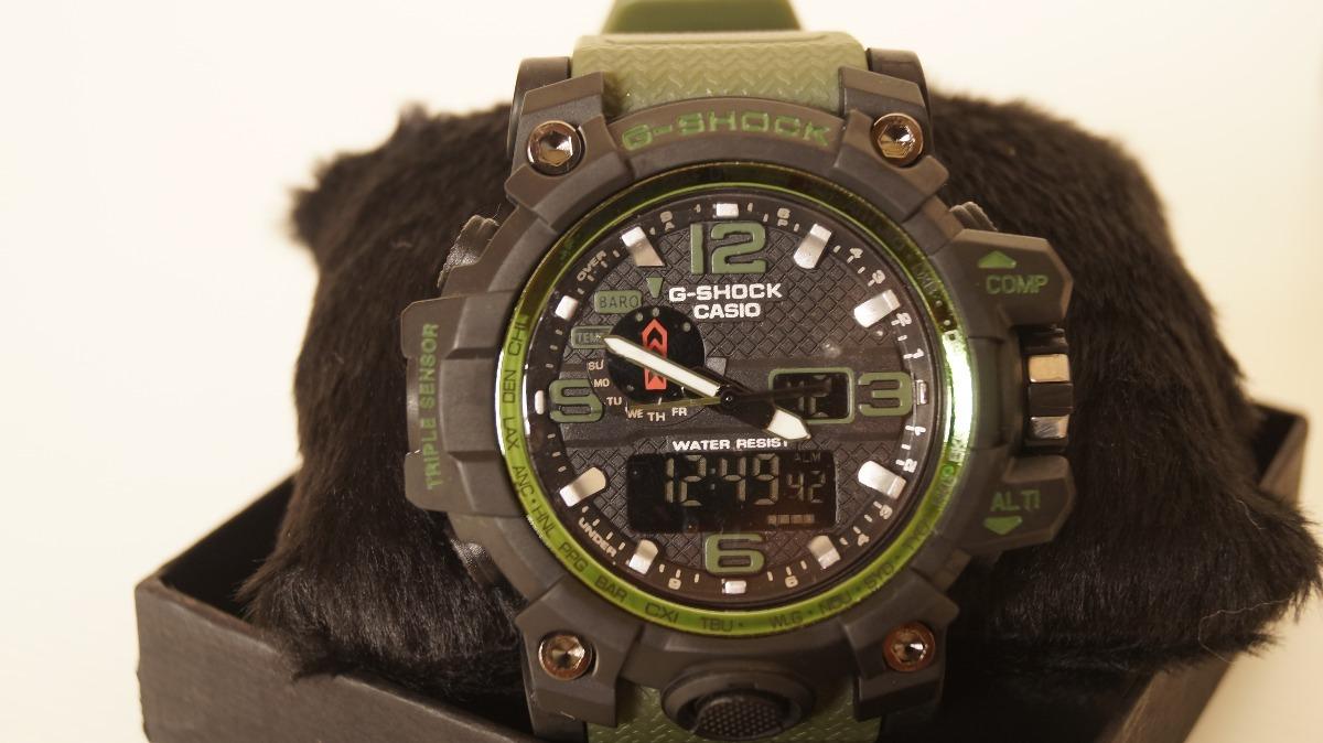 6cdcdf6a6c3 relógio digital casio g shock mud master verde modelo novo. Carregando zoom.