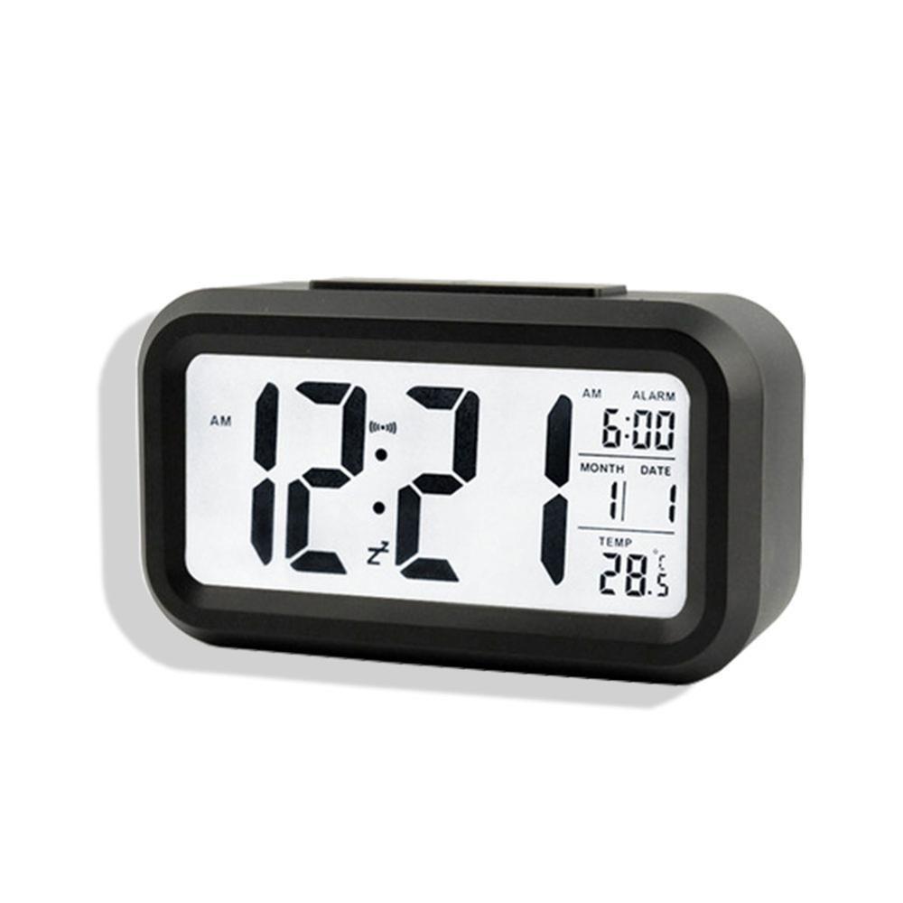 ef9b0fc50a9 relógio digital de mesa parede portatil único com led e lcd. Carregando  zoom.