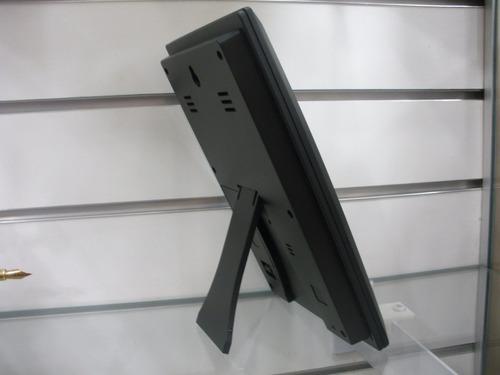 relógio digital de mesa / parede + temp + umidad herweg 2970