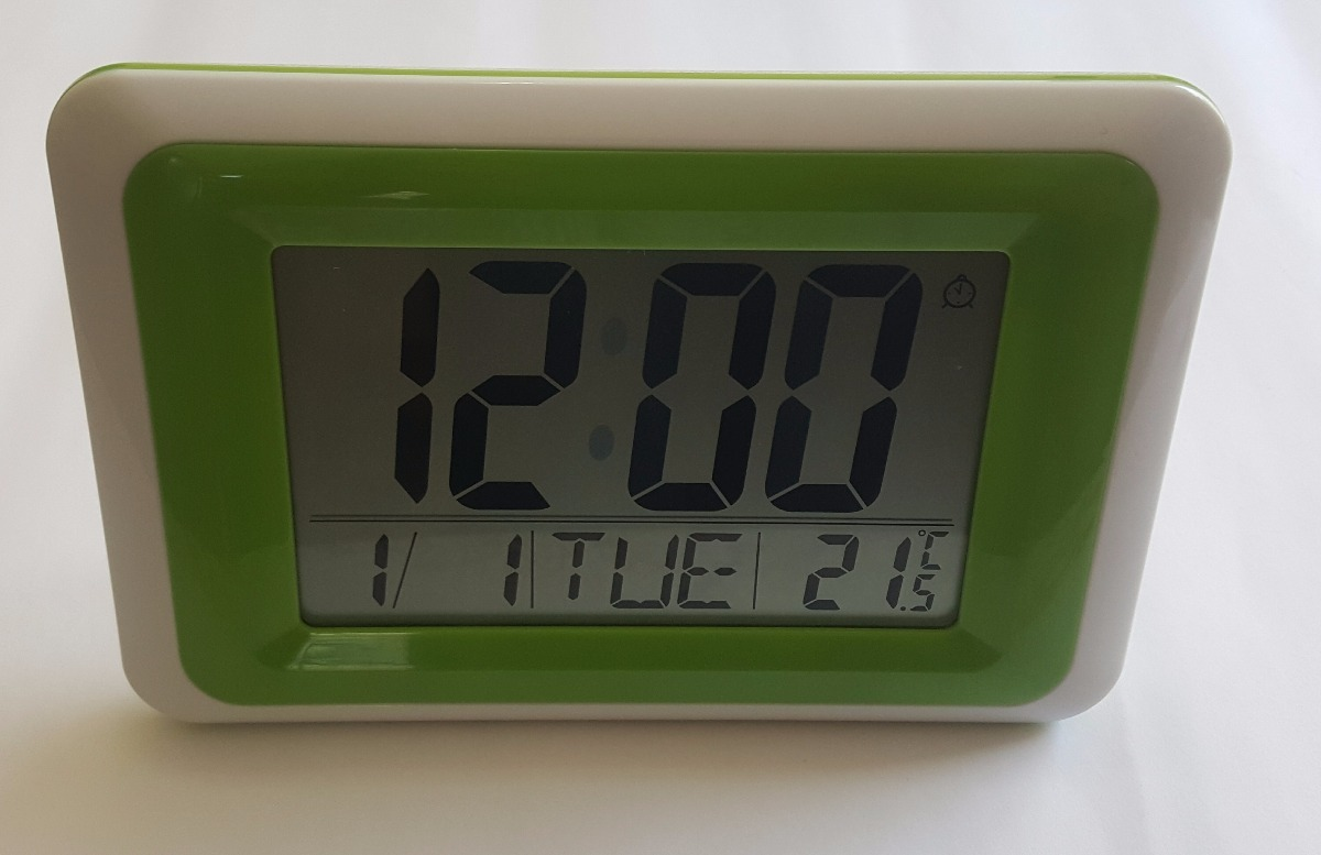 ea03dd4b137 relógio digital de parede mesa despertador termometro atima. Carregando  zoom.
