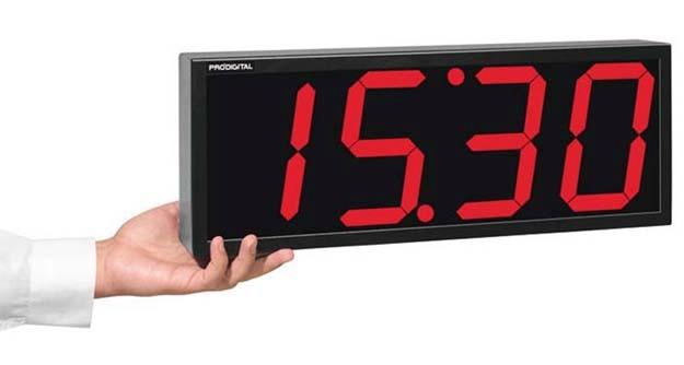 2c61952c381 Relógio Digital De Parede Rdi-1g - Industrial   Comercial - - R ...