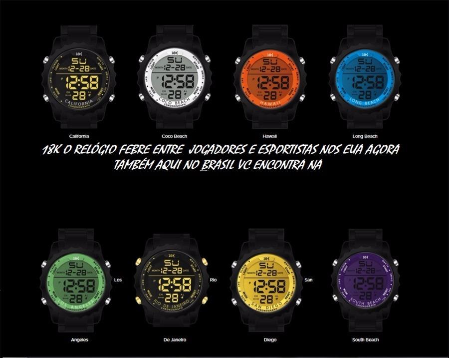 0f53741aae3 Relógio Digital Esportivo 18k Watches Moda Todos Modelos - R  185