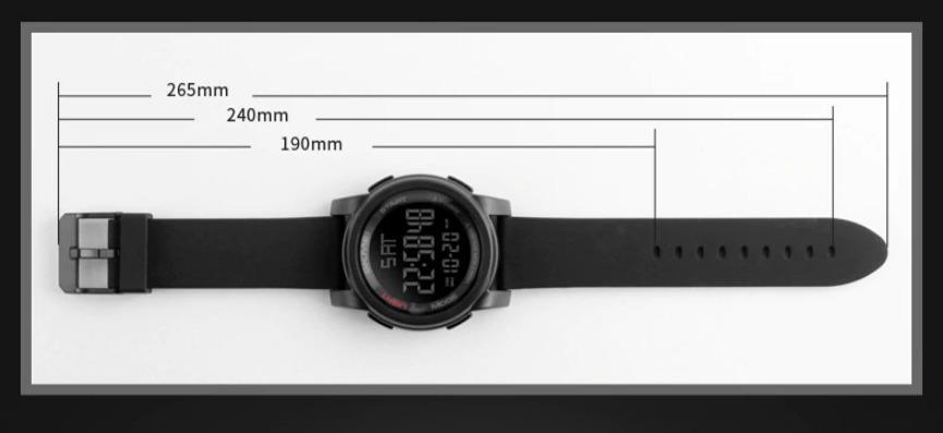 8b7021e0b41 relogio digital esportivo a prova d agua skmei 1257 original. Carregando  zoom.