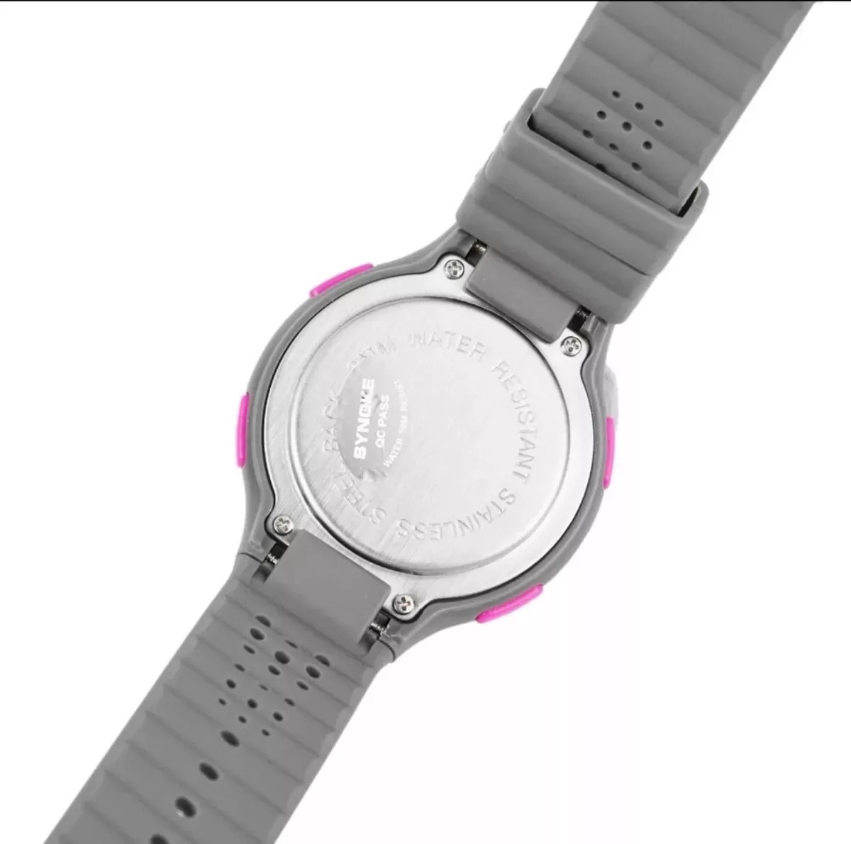 01c9a309209 relógio digital feminino academia cronômetro preto grande. Carregando zoom.