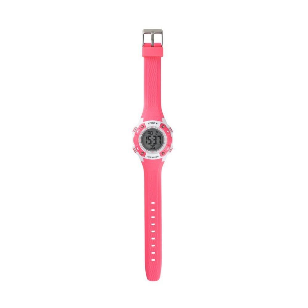 214aa448b7b relógio digital feminino esportivo rosa prova d agua atrio. Carregando zoom.