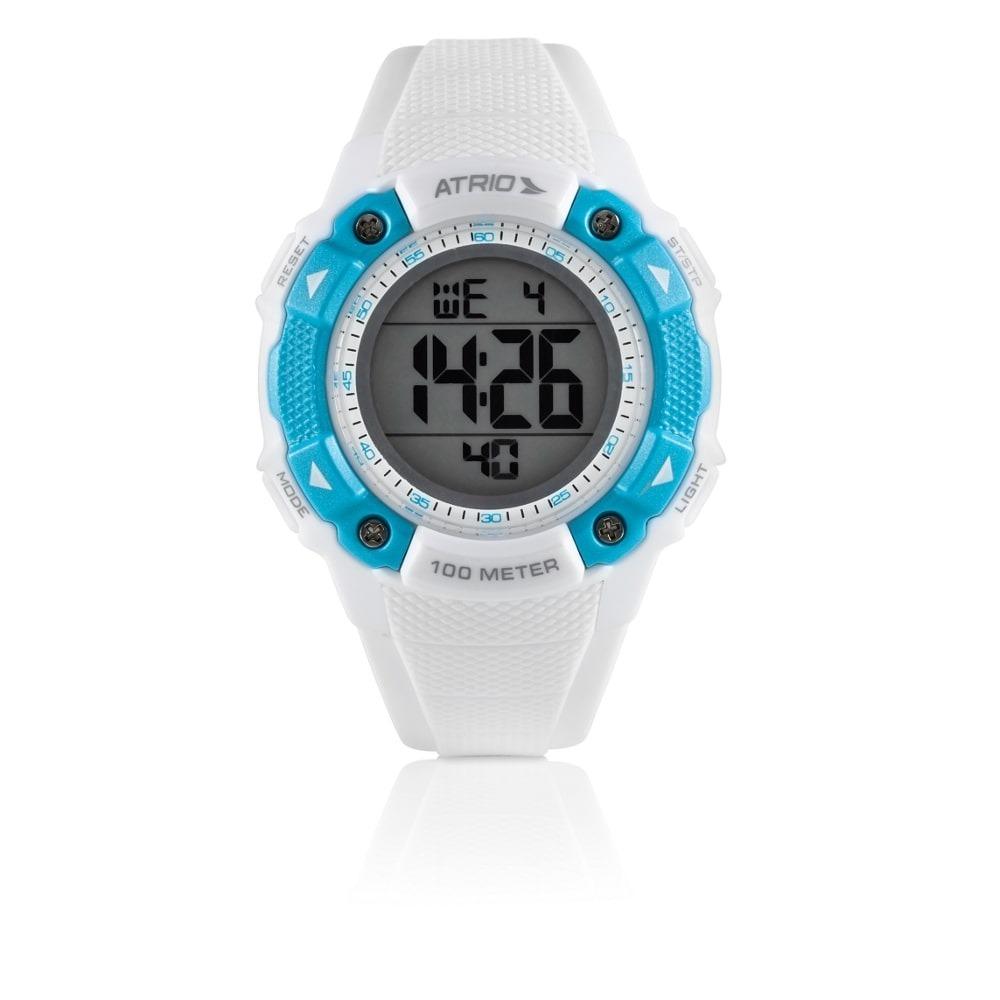 6d93f4d726b relógio digital feminino iridium azul es098 - atrio. Carregando zoom.