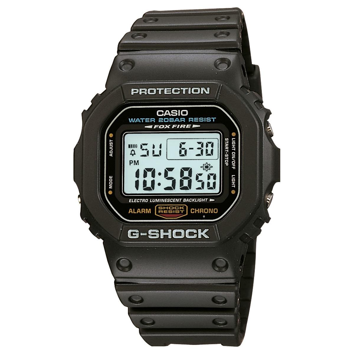 458fcb385d3 Relogio Digital G-shock Dw5600 Dw-5600e-1vdf Original - R  329
