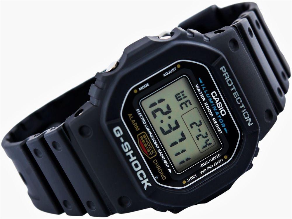 b995aa4bfd5 Relogio Digital G-shock Dw5600 Dw-5600e-1vdf Original - R  329