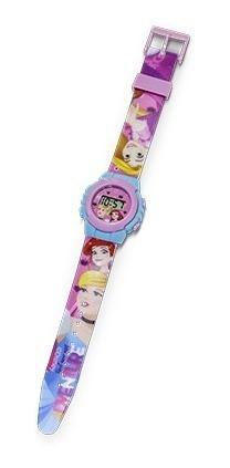 relógio digital infantil princesas disney- dtc 4657