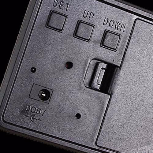 abf6dccd80e Relogio Digital Led Madeira Alarme Termo Melhor Preço Brasil - R  59 ...