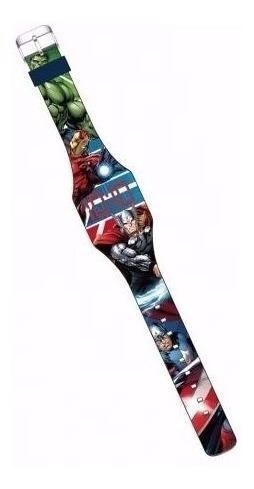 relógio digital led - marvel avengers - dtc - cod.3797