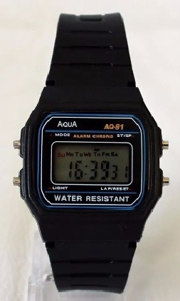 a38e2a7879a Relógio Digital Masculino Barato Aqua Prova D agua   Cássio - R  18 ...