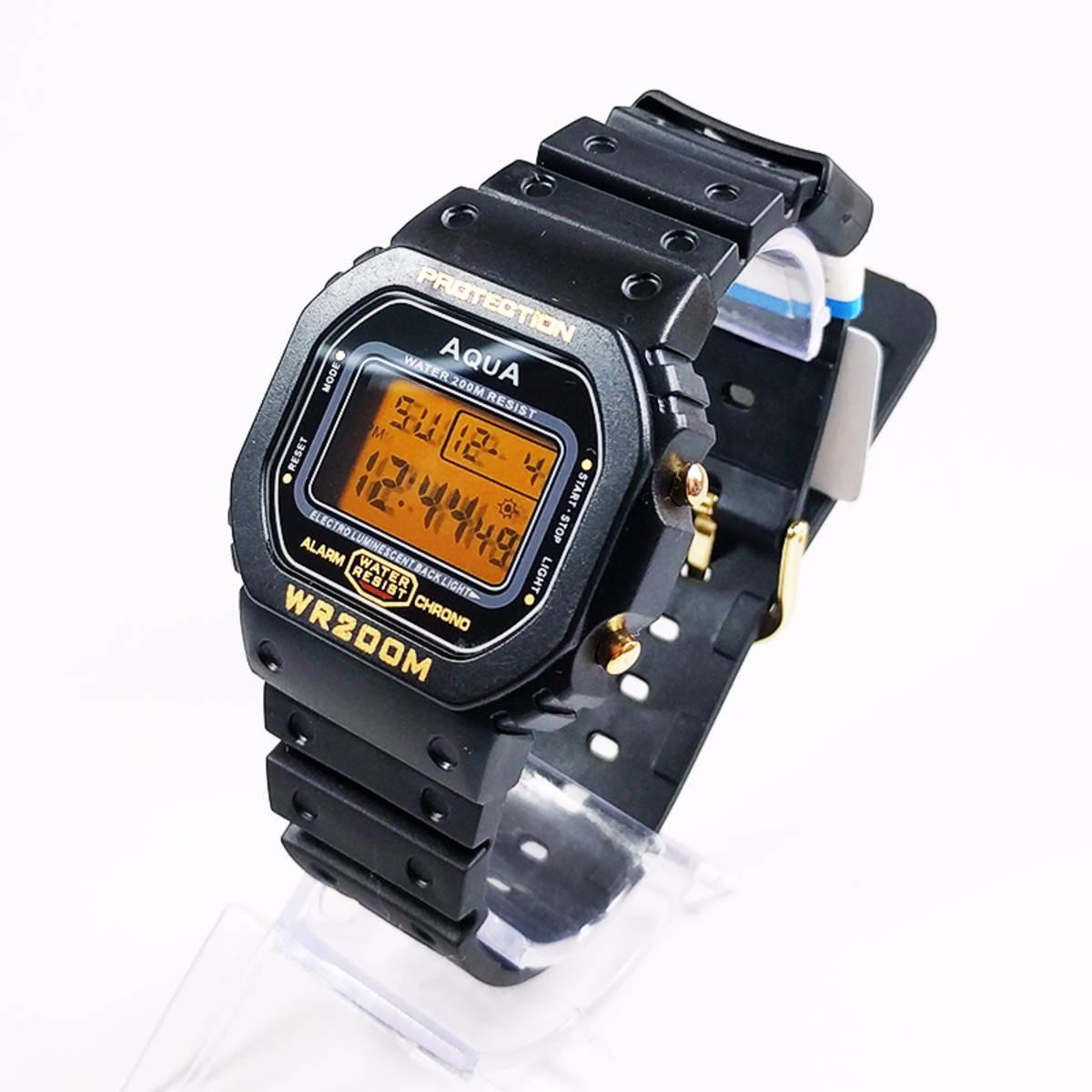 f7ea82b720b relógio digital masculino barato aqua prova d agua   cassio. Carregando zoom .