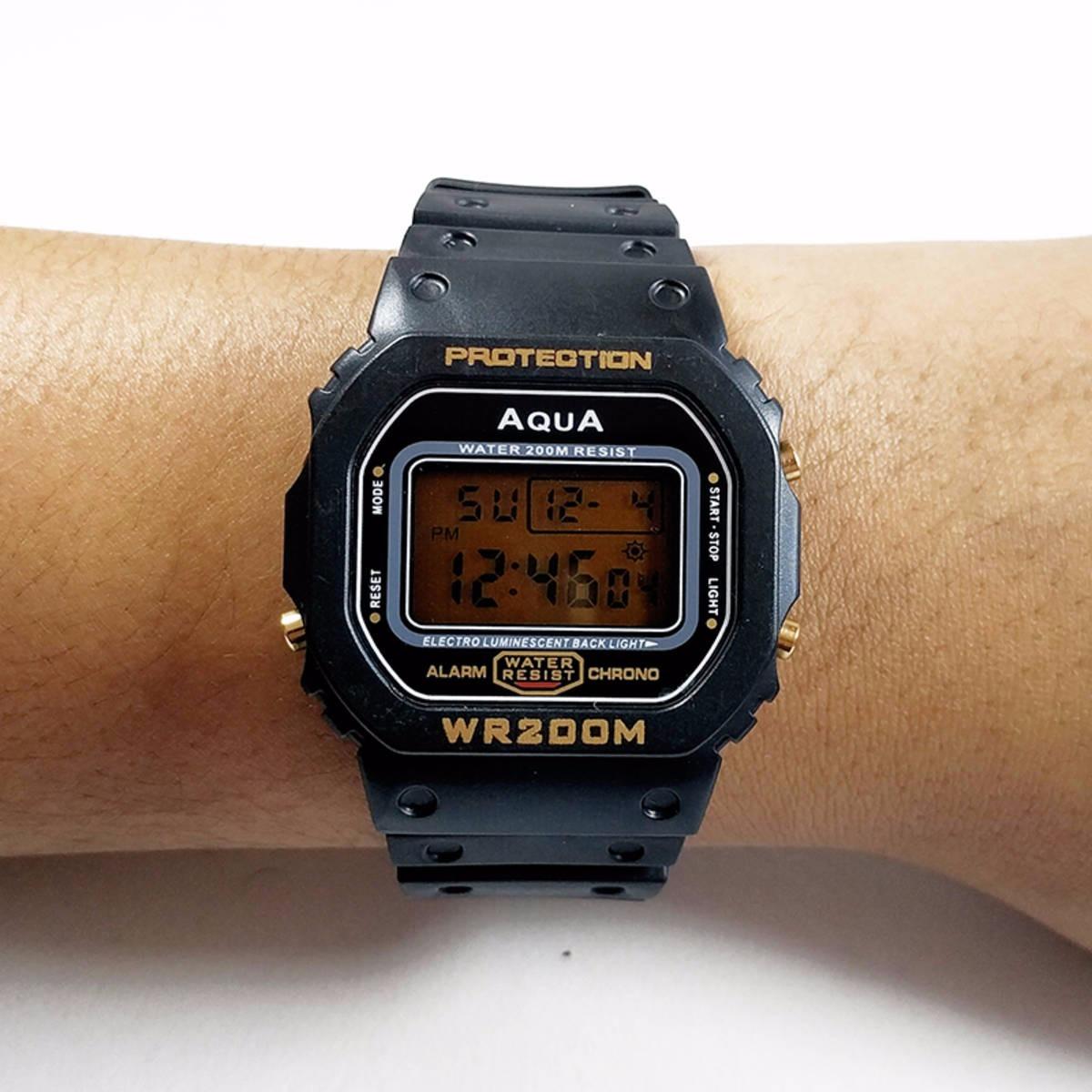 011b674cf67 relógio digital masculino barato prova dagua   cassio oferta. Carregando  zoom.